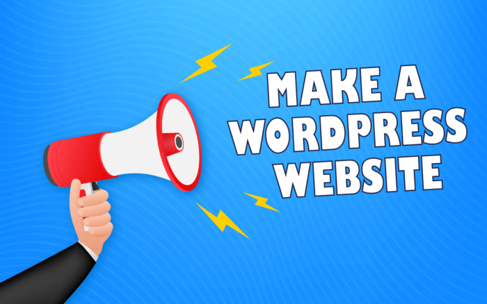 How to Make a WordPress Website for Beginners
